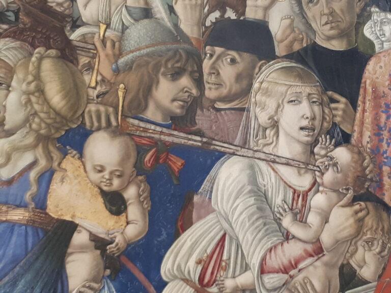 Siena vista con gli occhi di un pellegrino - Matteo di Giovanni - Strage degli innocenti - Santa Maria della Scala