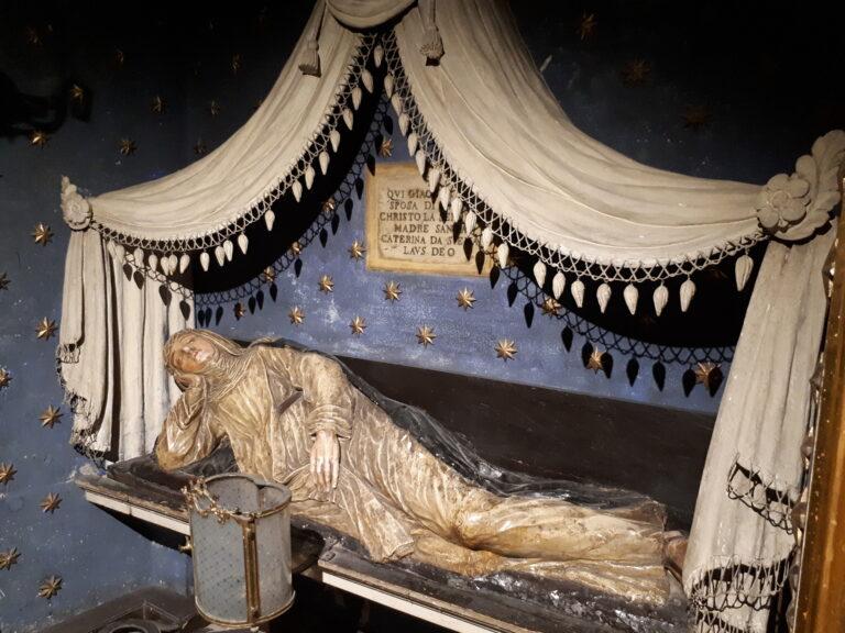 Santa Maria della Scala - luogo ove Santa Caterina era solita dormire quando assisteva i malati