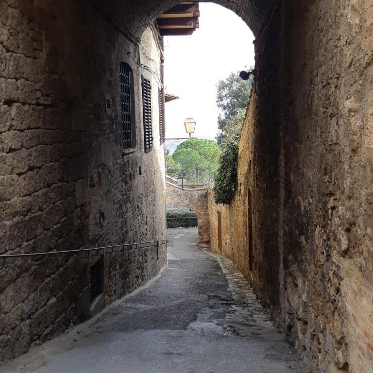 Le mura di San Gimignano