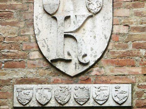 Un tour alternativo: stemma del terzo di Camollia