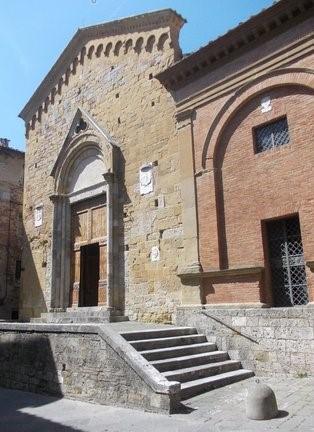 Chiesa di San Pietro alla Magione, tappa dello Slow tour, testimonianza della presenza templare a Siena.